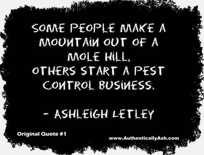 Ashleigh Letley Quote | AuthenticallyAsh.com