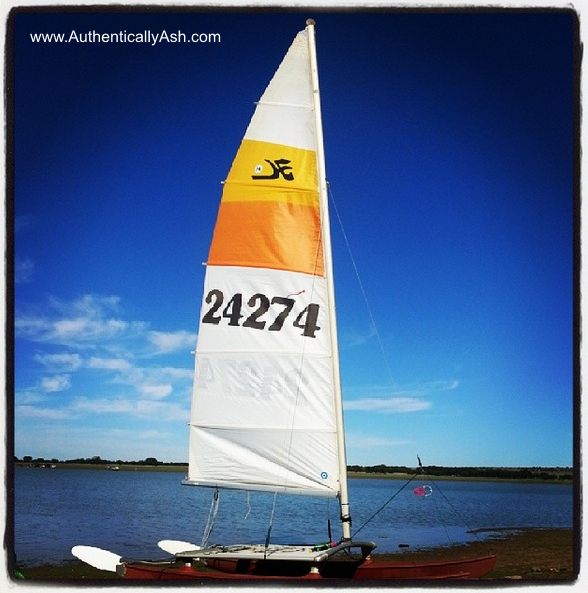 Mark Letley's Hobie Cat 14ft | AuthenticallyAsh.com