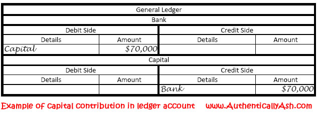 how to make a ledger
