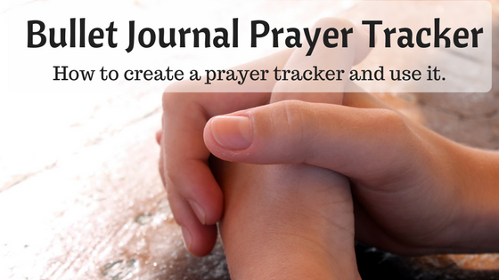 Bullet Journal Prayer Tracker | AuthenticallyAsh.com