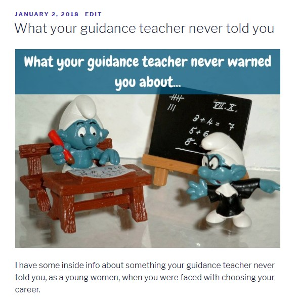 What your guidance teacher never told you about | AuthenticallyAsh.com
