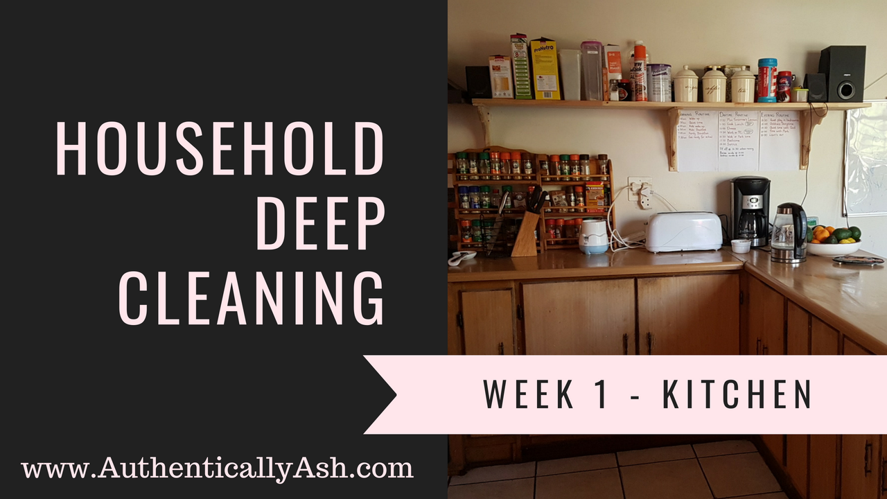 Household Deep Cleaning | AuthenticallyAsh.com