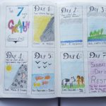 7 days of creation spread - AuthenticallyAsh