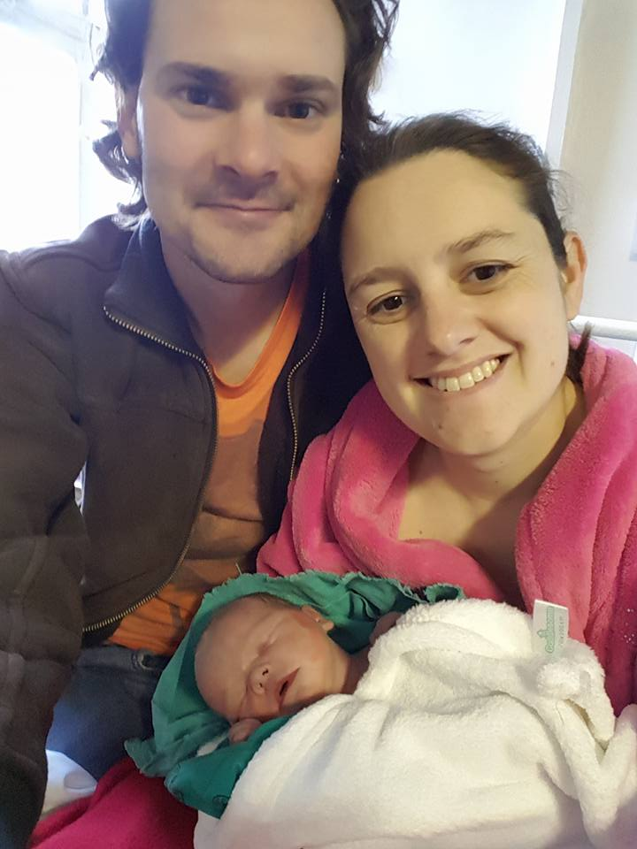 Brynn's first photo - National Hospital in Bloemfontein