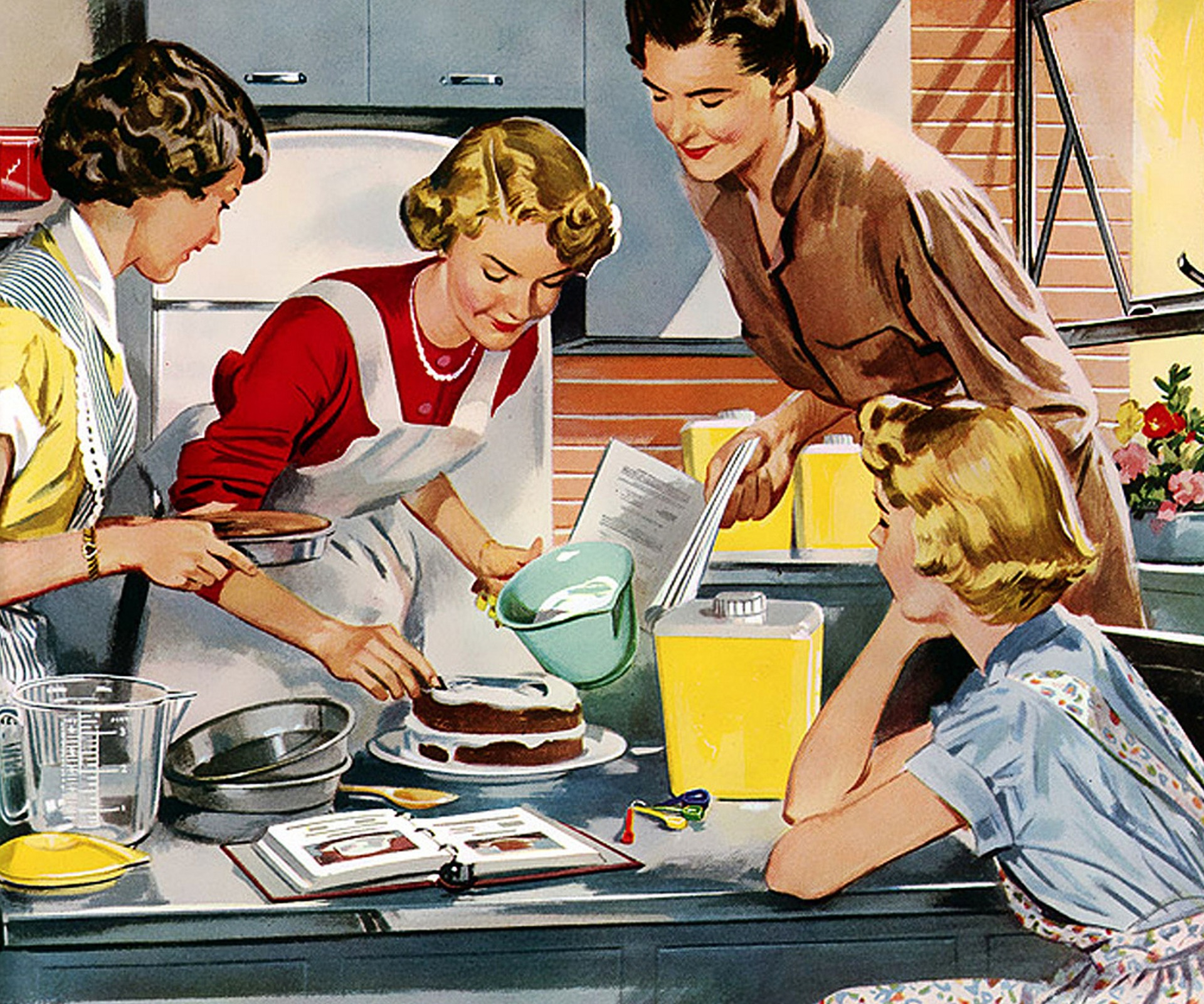 Housekeeping involves cooking and baking