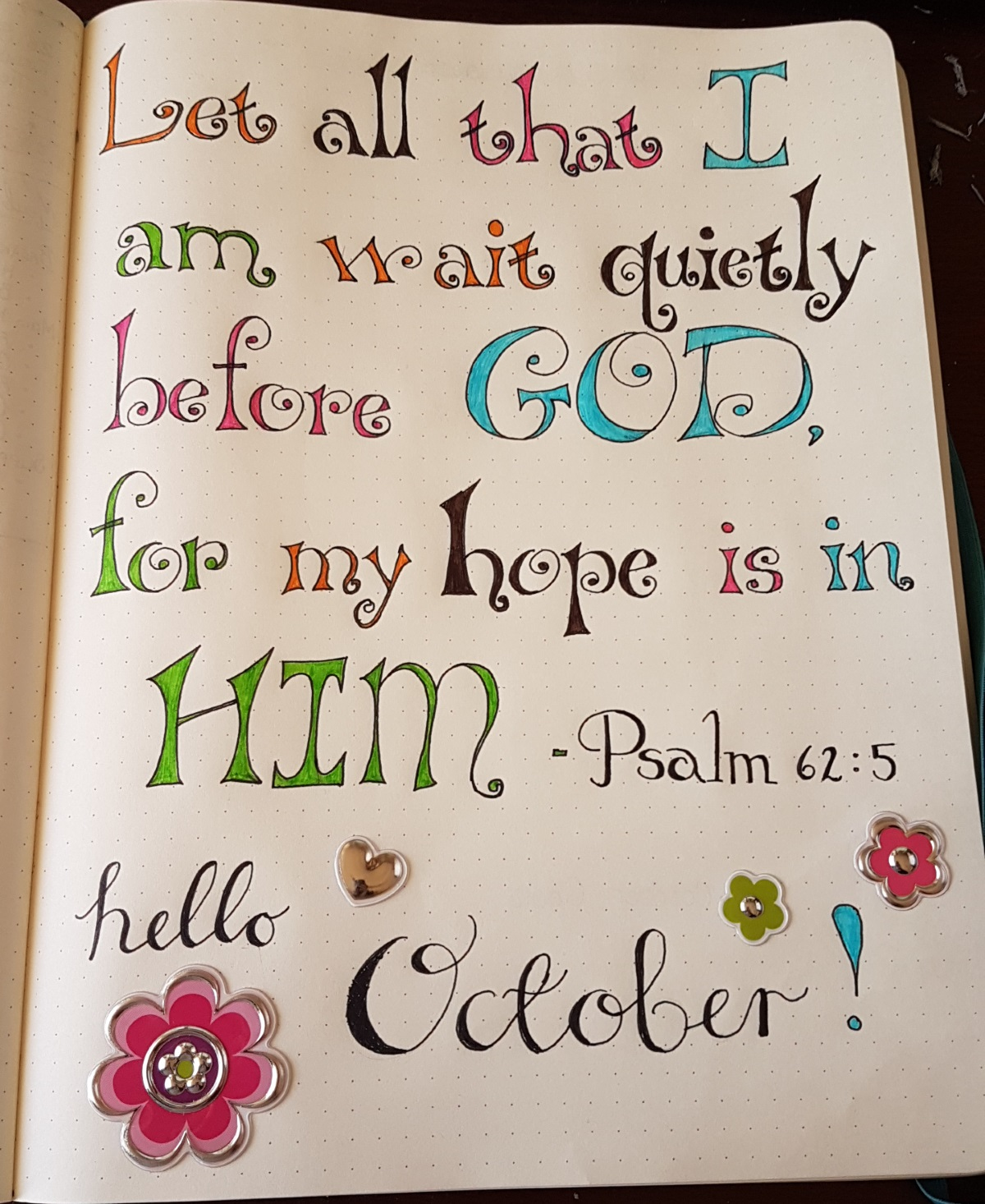 Hello October | Bullet Journal | Authentically Ash
