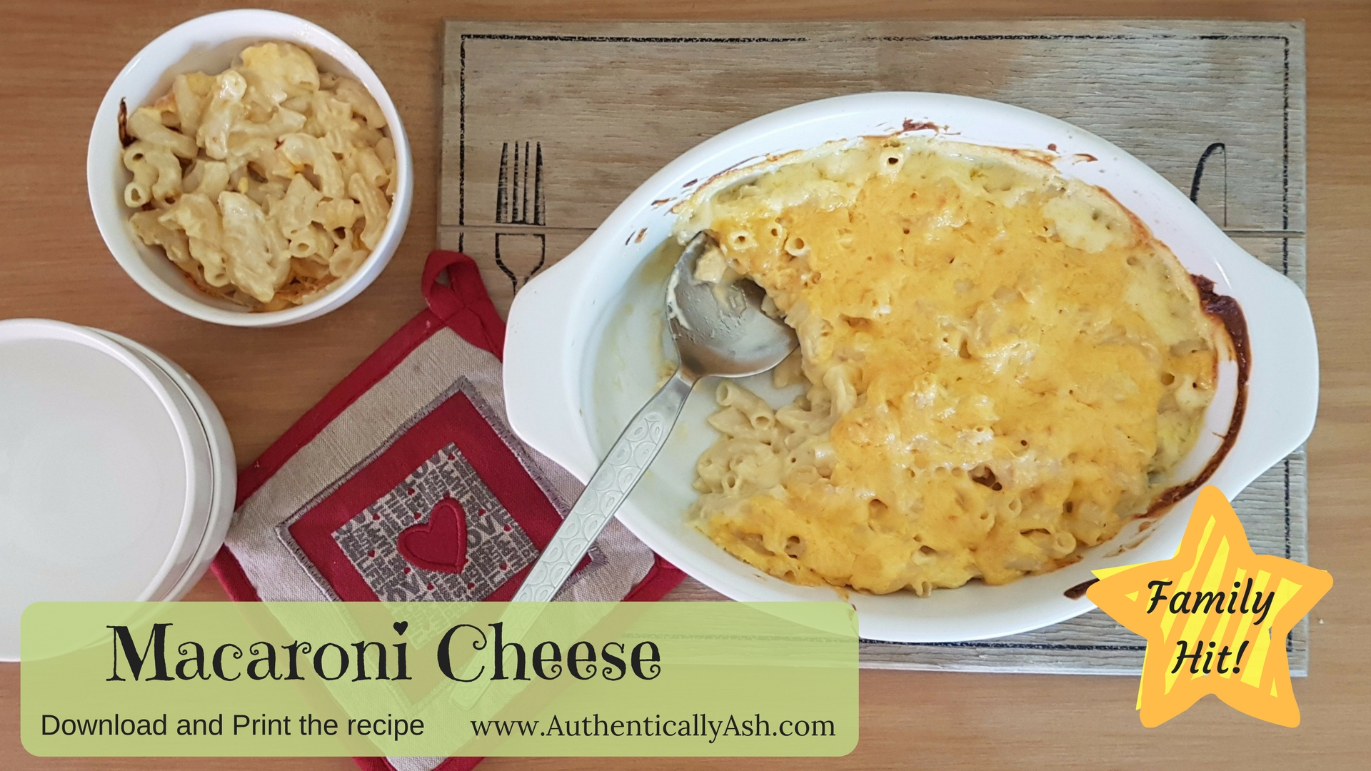 Easy Macaroni Cheese Recipe | AuthenticallyAsh.com