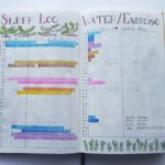 Complete August Sleep Log, Water Log and Exercise Log - AuthenticallyAsh