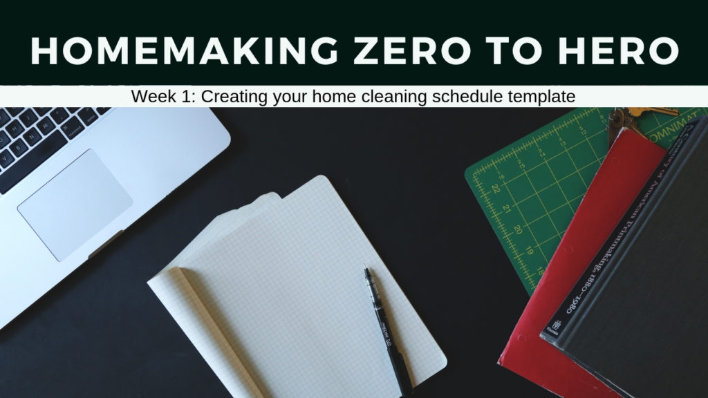 Homemaking Zero to Hero Week 1_ Creating your Cleaning System Template | AuthenticallyAsh.com