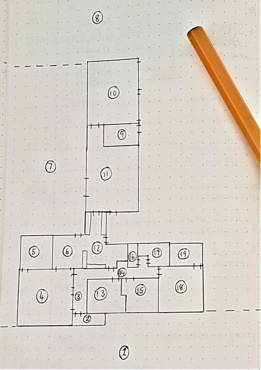Dividing Home into Cleaning Zones - Step 1 - Floorplan   AuthenticallyAsh.com
