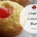 Cherry Coconut Buns Recipe | AuthenticallyAsh.com