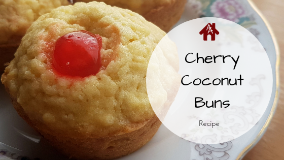 Cherry Coconut Buns Recipe | AuthenticallyAsh.com