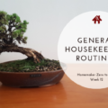 Week 12: General Housekeeping Routines - Homemaking Zero to Hero | AuthenticallyAsh