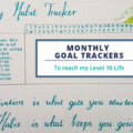 Monthly Goal Trackers Cover | AuthenticallyAsh.com